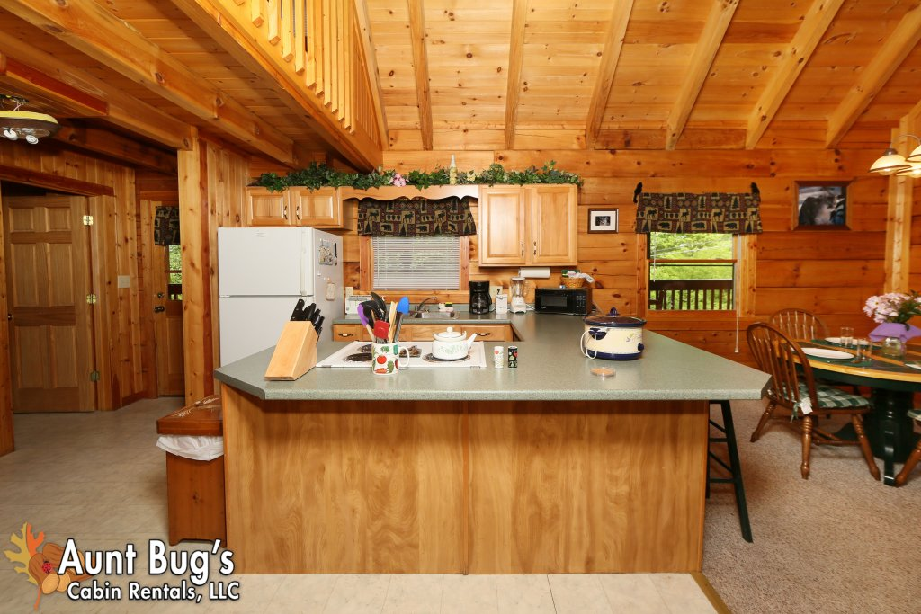 Photo of a Gatlinburg Cabin named A Mountain Lair #1631 - This is the nineteenth photo in the set.