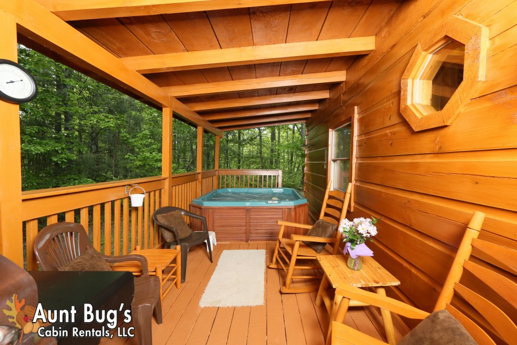 Photo of a Gatlinburg Cabin named A Mountain Lair #1631 - This is the thirty-third photo in the set.