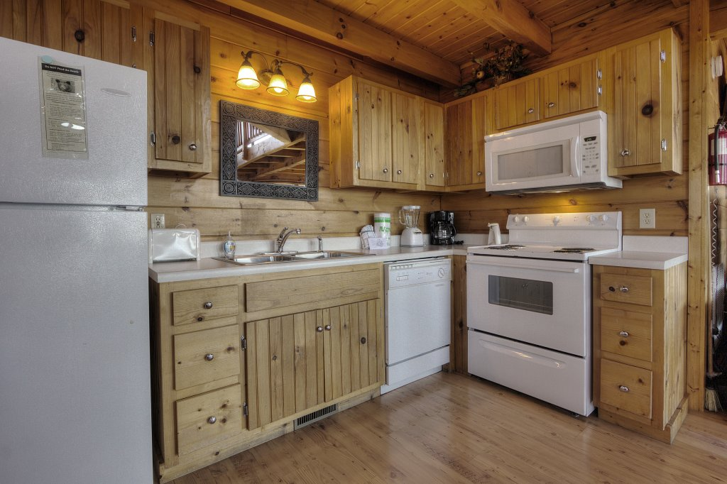 Photo of a Pigeon Forge Cabin named Morning View #131 - This is the tenth photo in the set.