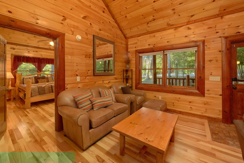 Photo of a Gatlinburg Cabin named Live, Laugh, Love Pool Lodge - This is the twenty-fourth photo in the set.