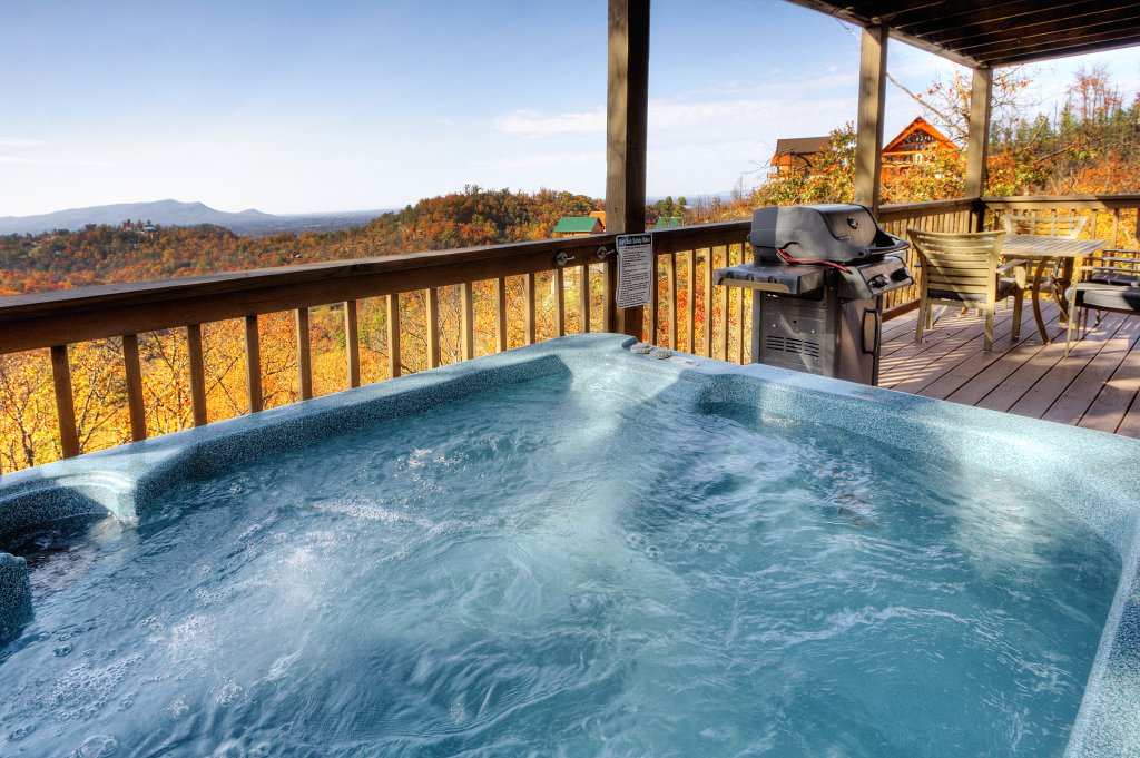 Photo of a Pigeon Forge Cabin named Morning View #131 - This is the fourth photo in the set.
