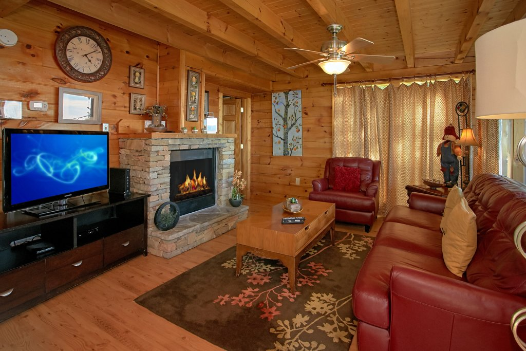 Photo of a Pigeon Forge Cabin named Morning View #131 - This is the forty-fifth photo in the set.