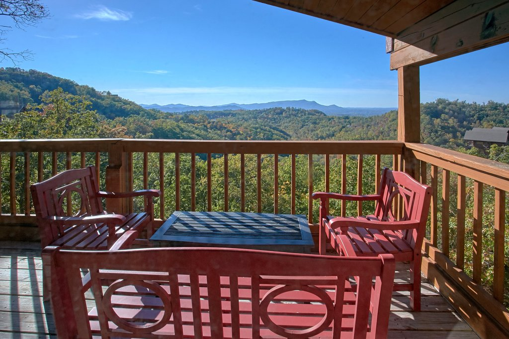 Photo of a Pigeon Forge Cabin named Morning View #131 - This is the forty-seventh photo in the set.