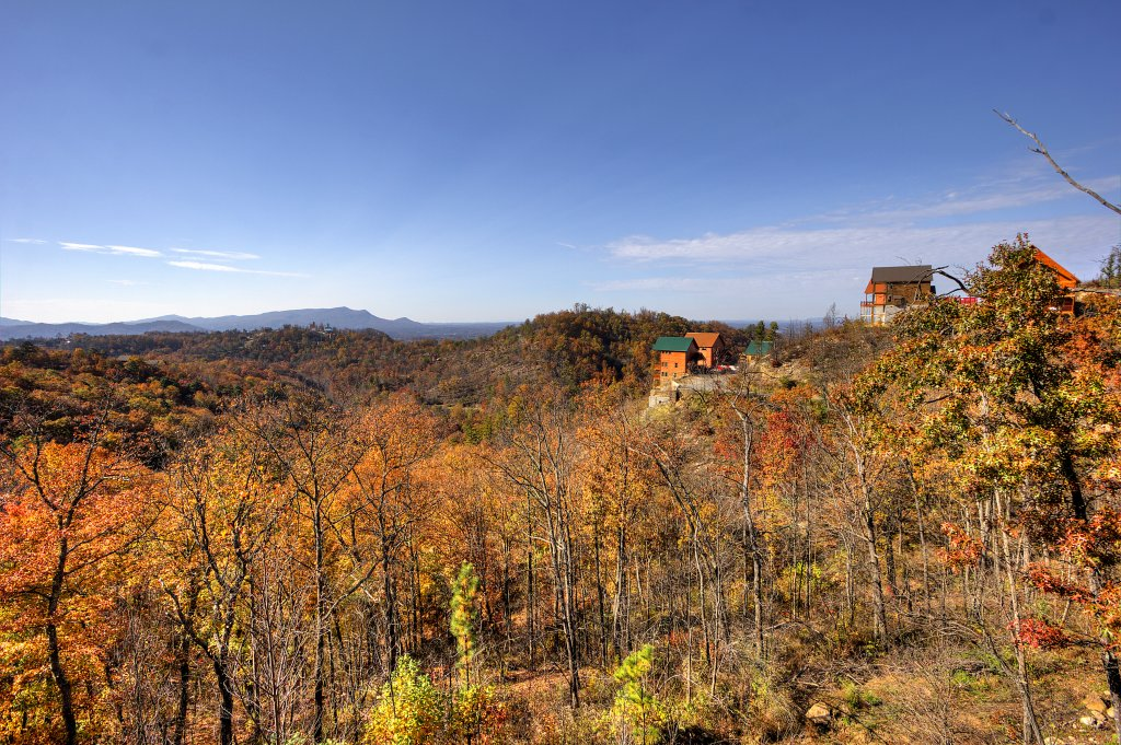 Photo of a Pigeon Forge Cabin named Morning View #131 - This is the fortieth photo in the set.