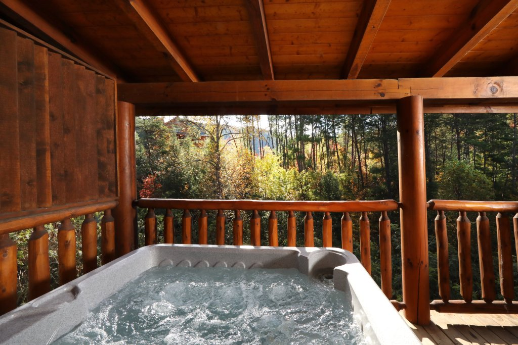 Photo of a Pigeon Forge Cabin named Amazing Grace - This is the third photo in the set.
