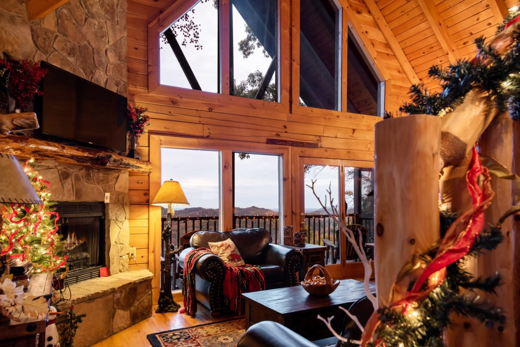 Photo of a Pigeon Forge Cabin named A Wild View Yonder #377 - This is the ninety-seventh photo in the set.