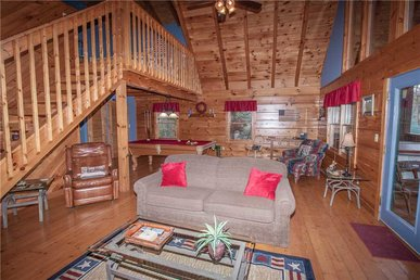 Mountain Glory 2, 1 Bedroom, Hot Tub, Wifi, Pool Table, Pets, Sleeps 2