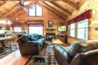 Fawn Cabin, 1 Bedroom, Hot Tub, Private, Pets, Gas Fireplace, Sleeps 4