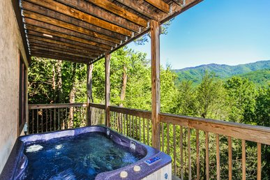 Majestic View, 1 Bedroom, Jetted Tub, Mountain View, Hot Tub, Sleeps 2