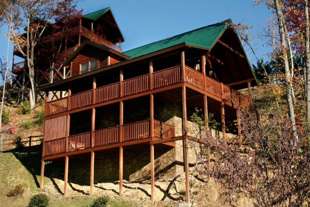 Photo of a Gatlinburg Cabin named Komfy Kozy - This is the seventeenth photo in the set.