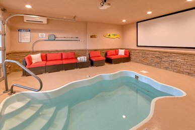 *** Brand New *** - Private Indoor Heater Pool With Game Room