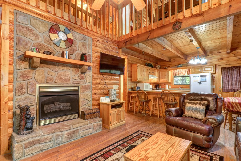 Photo of a Sevierville Cabin named Friendly Bear Cabin - This is the first photo in the set.