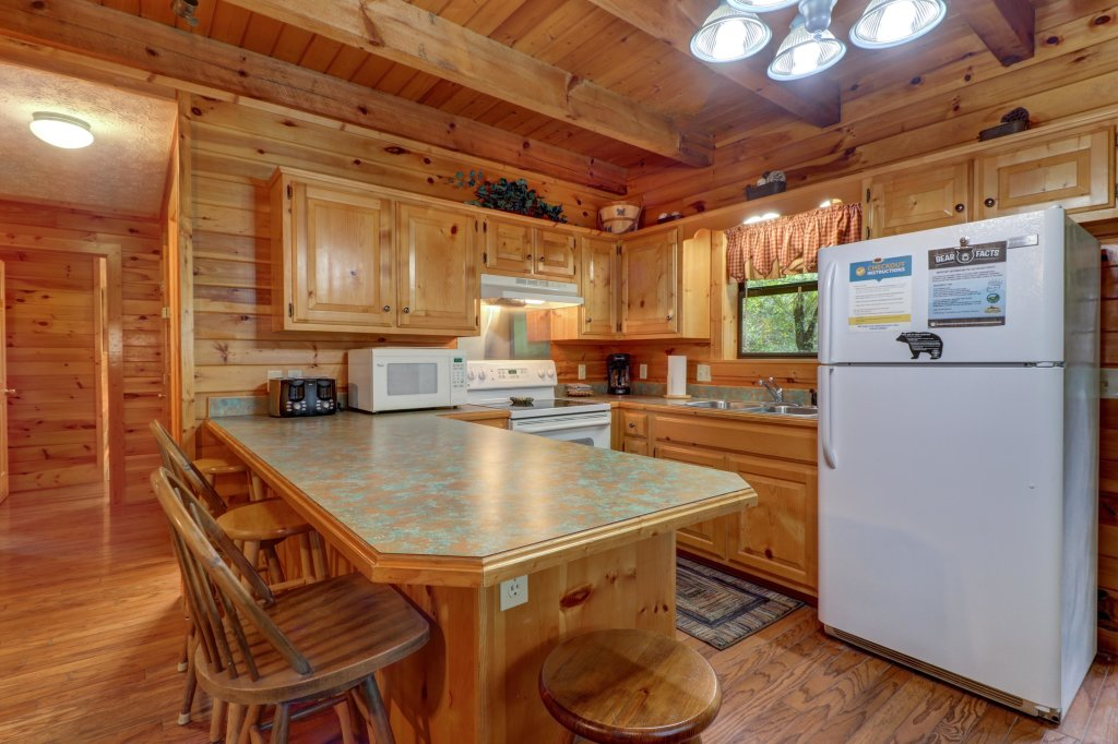 Photo of a Sevierville Cabin named Friendly Bear Cabin - This is the third photo in the set.