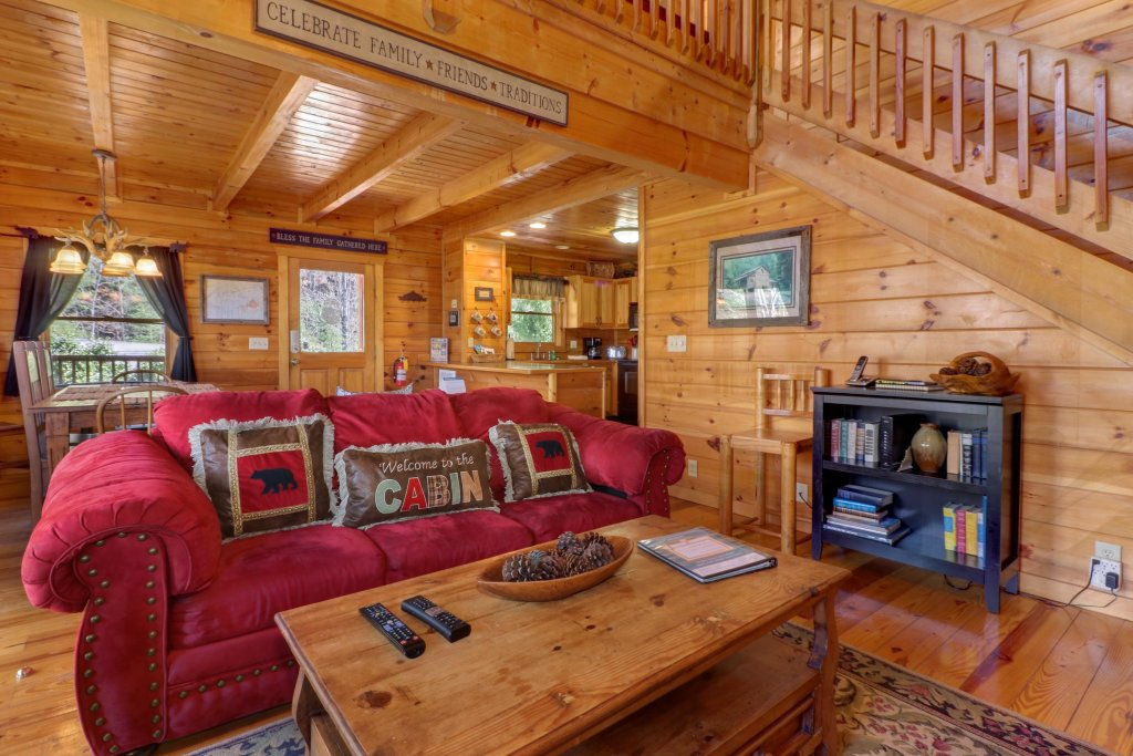 Photo of a Pigeon Forge Cabin named Gristmill Getaway - This is the thirty-second photo in the set.