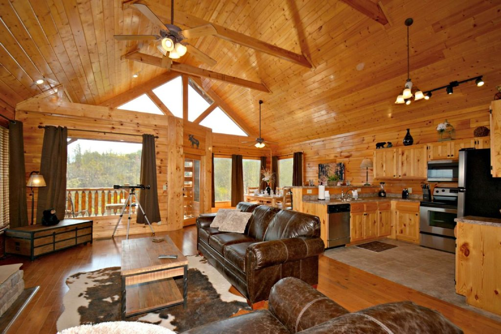 Photo of a Pigeon Forge Cabin named View Of Paradise - This is the eighth photo in the set.