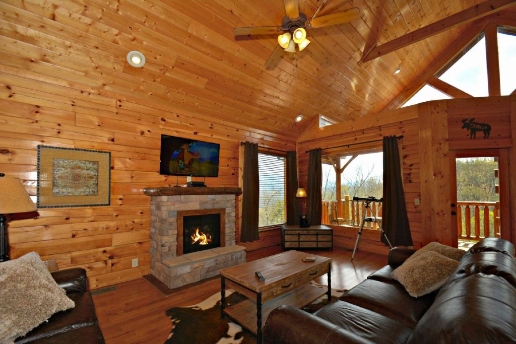 Photo of a Pigeon Forge Cabin named View Of Paradise - This is the ninth photo in the set.
