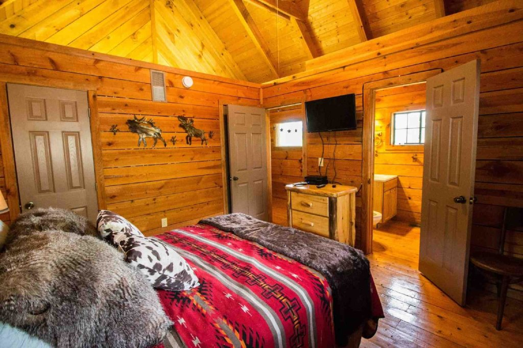Photo of a Sevierville Cabin named Townsend Cabin #6  Mountain Star - This is the seventeenth photo in the set.