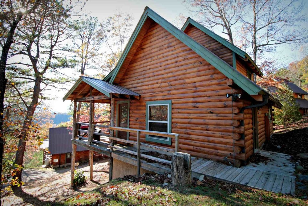 Photo of a Sevierville Cabin named Townsend Cabin #5  Blueberry Hill - This is the eighth photo in the set.