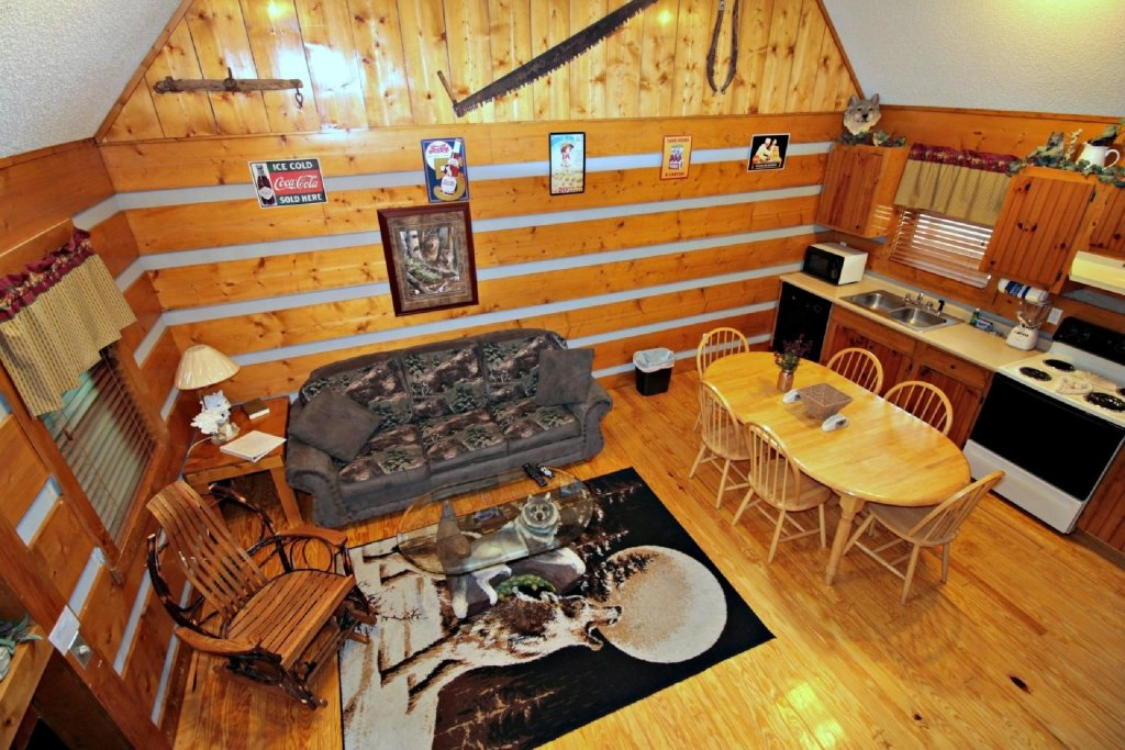 Photo of a Pigeon Forge Cabin named Dances With Wolves - This is the third photo in the set.