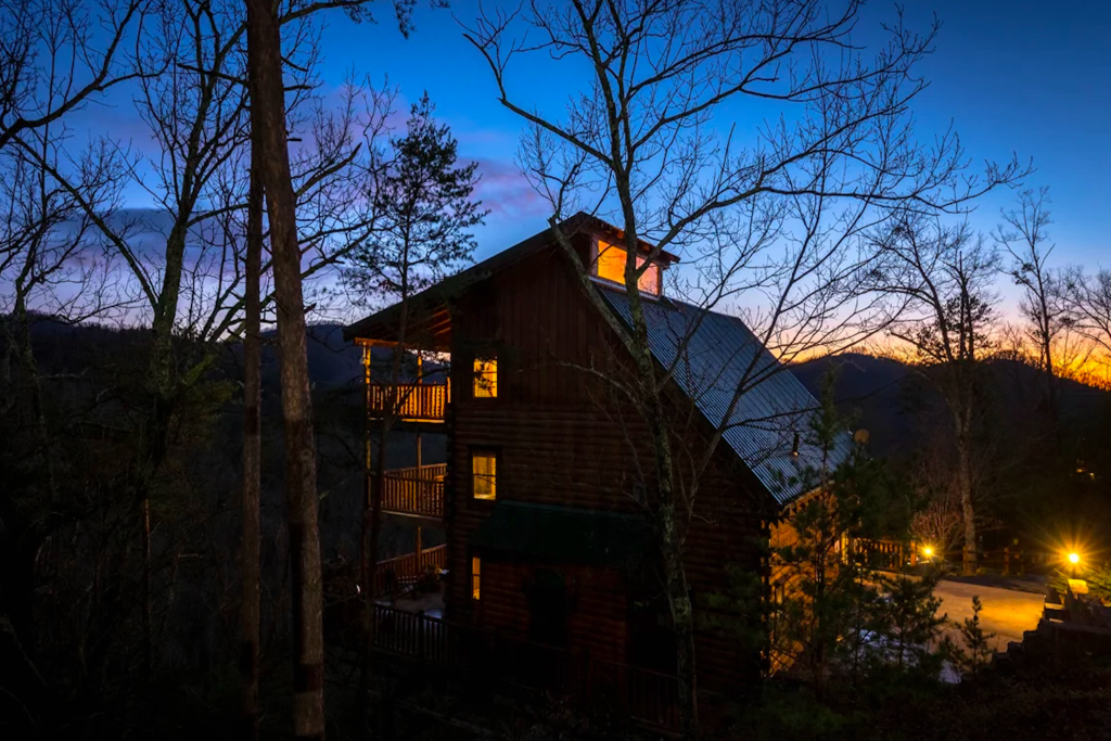 Photo of a Pigeon Forge Cabin named Like A Comet - This is the thirty-first photo in the set.