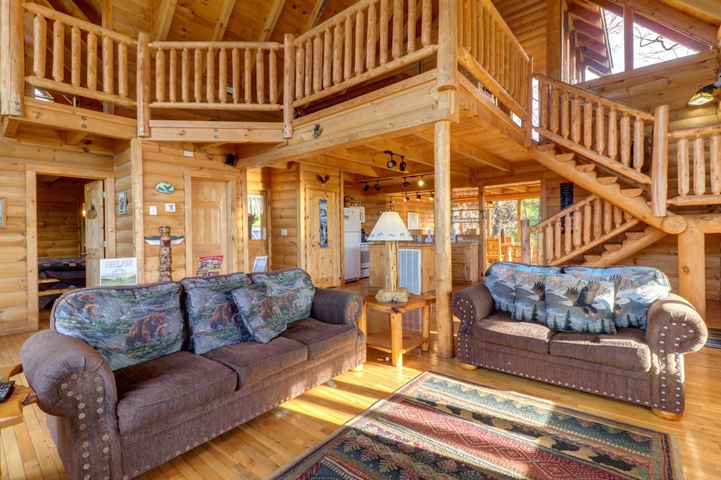 Photo of a Pigeon Forge Cabin named Kodiak #45 - This is the tenth photo in the set.