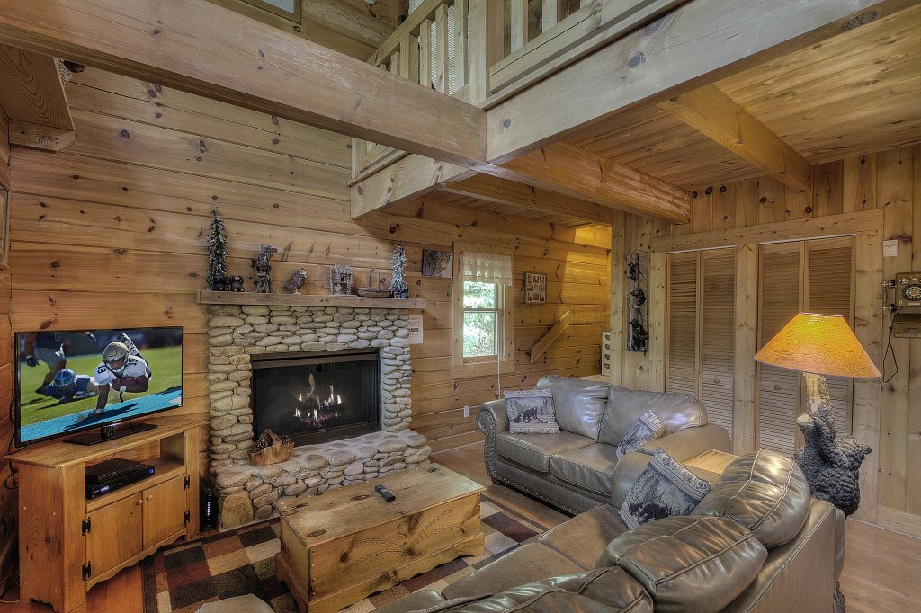 Photo of a Pigeon Forge Cabin named Smoky Mountain Memories #107 - This is the second photo in the set.