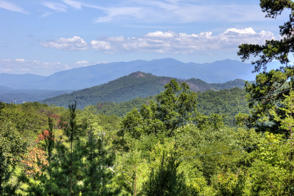 Photo of a Sevierville Cabin named Apple Bear View #116 - This is the second photo in the set.