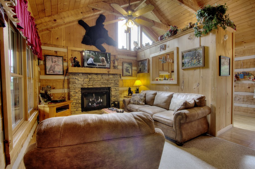 Photo of a Sevierville Cabin named Apple Bear View #116 - This is the twenty-eighth photo in the set.