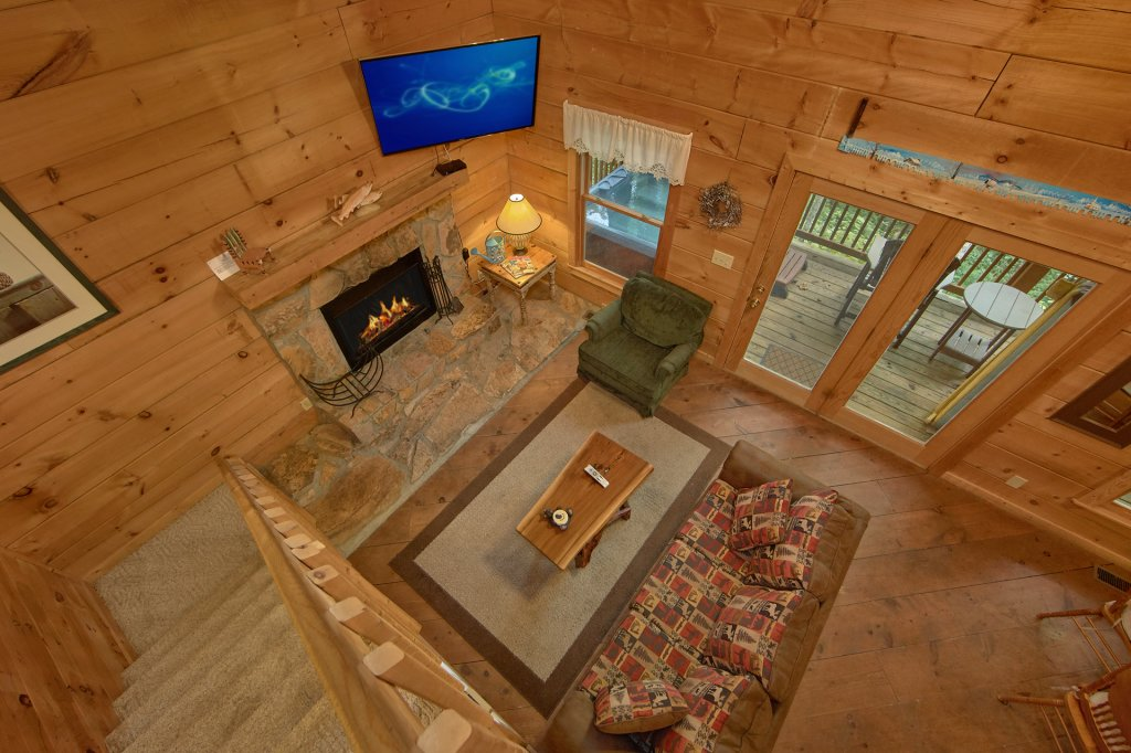 Photo of a Sevierville Cabin named All Tucked Away #114 - This is the twenty-second photo in the set.