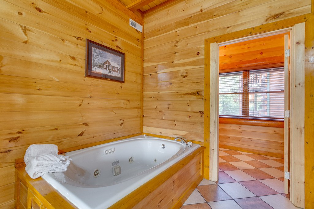 Photo of a Pigeon Forge Cabin named Bit O'honey - This is the forty-seventh photo in the set.