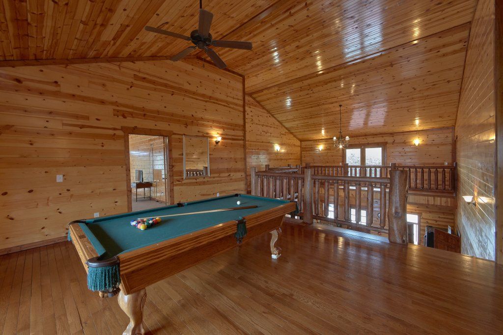 Photo of a Gatlinburg Cabin named Pool And A View Mansion - This is the ninth photo in the set.