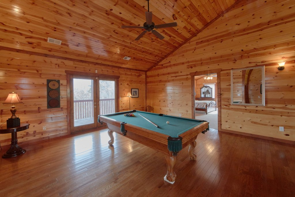 Photo of a Gatlinburg Cabin named Pool And A View Mansion - This is the eighth photo in the set.