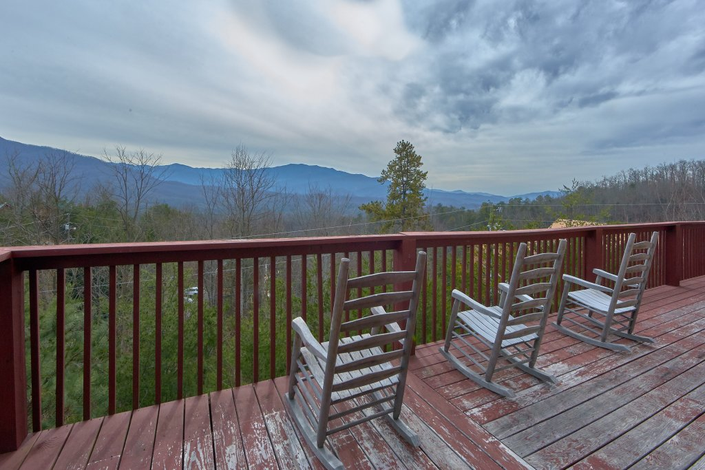 Photo of a Gatlinburg Cabin named Pool And A View Mansion - This is the third photo in the set.
