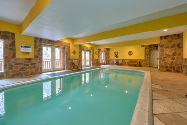 Ultimate Group Getaway Cabin!  Private Indoor Pool And Theater Room!