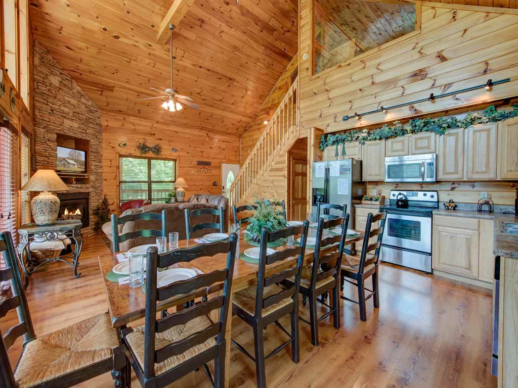 Photo of a Sevierville Cabin named Our Mountain Getaway - This is the sixth photo in the set.