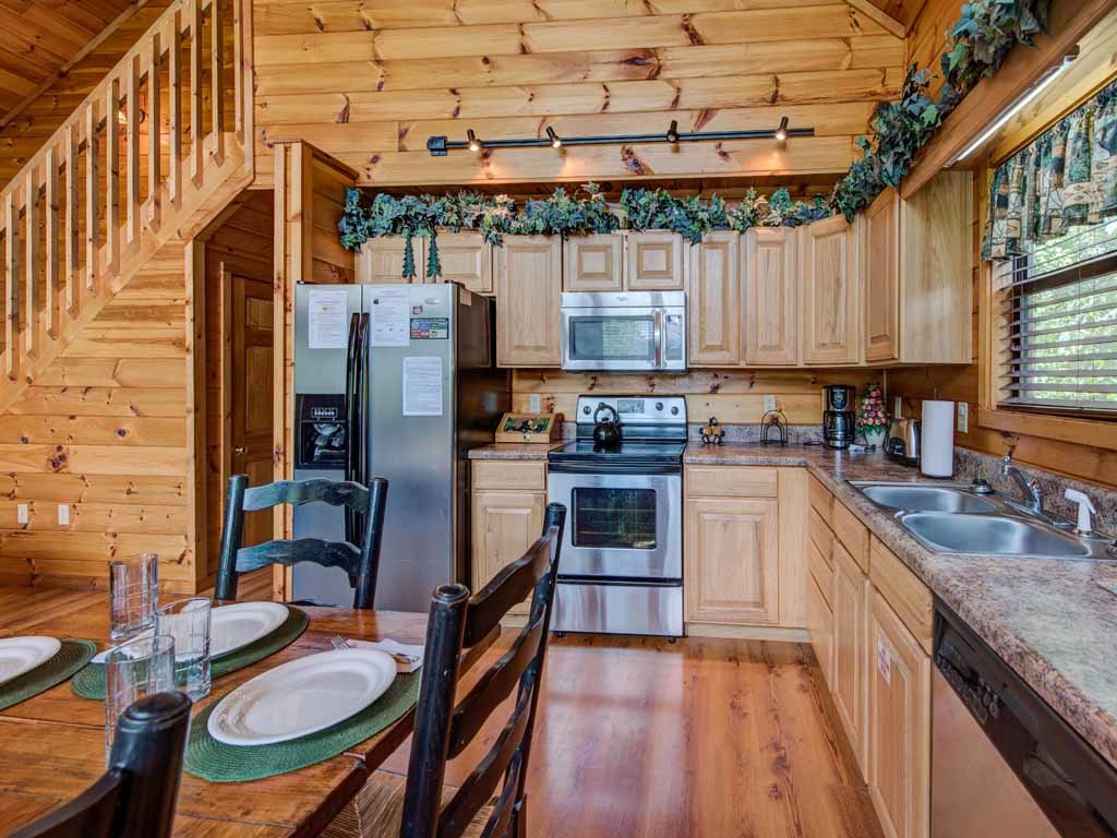 Photo of a Sevierville Cabin named Our Mountain Getaway - This is the eighth photo in the set.