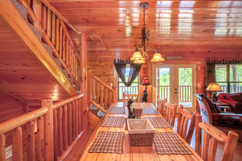 Photo of a Gatlinburg Cabin named Destiny's Heavenly View - This is the sixth photo in the set.