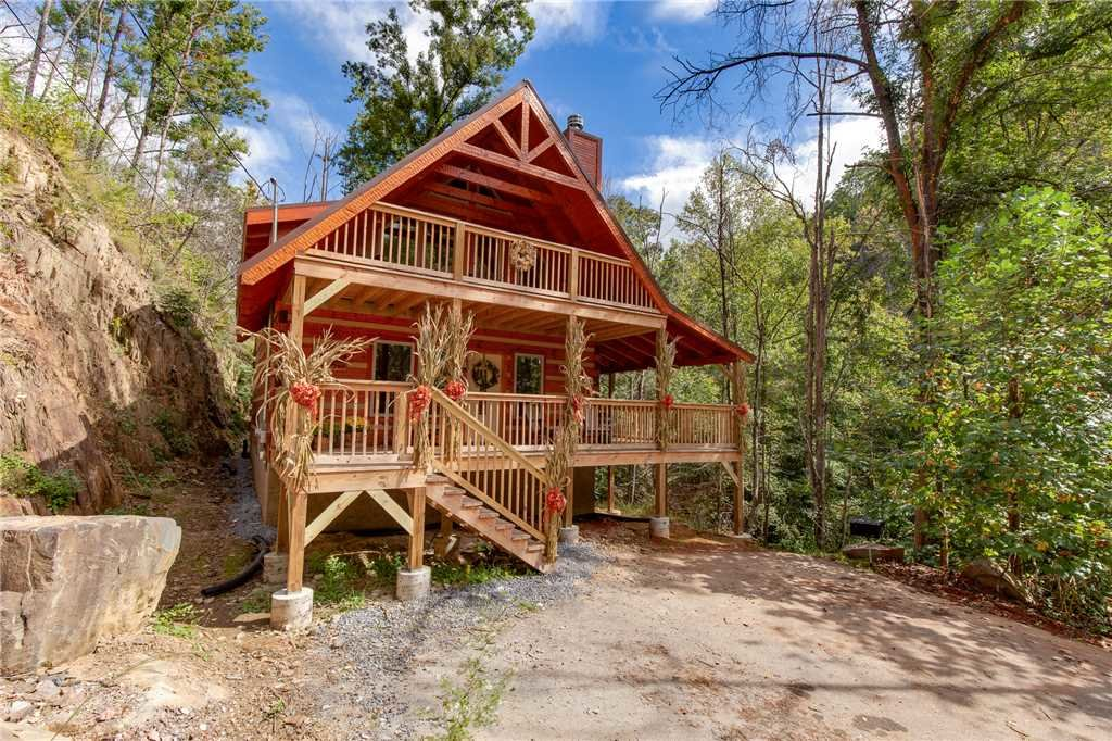 Photo of a Gatlinburg Cabin named Lovers' Hideaway - This is the twenty-third photo in the set.