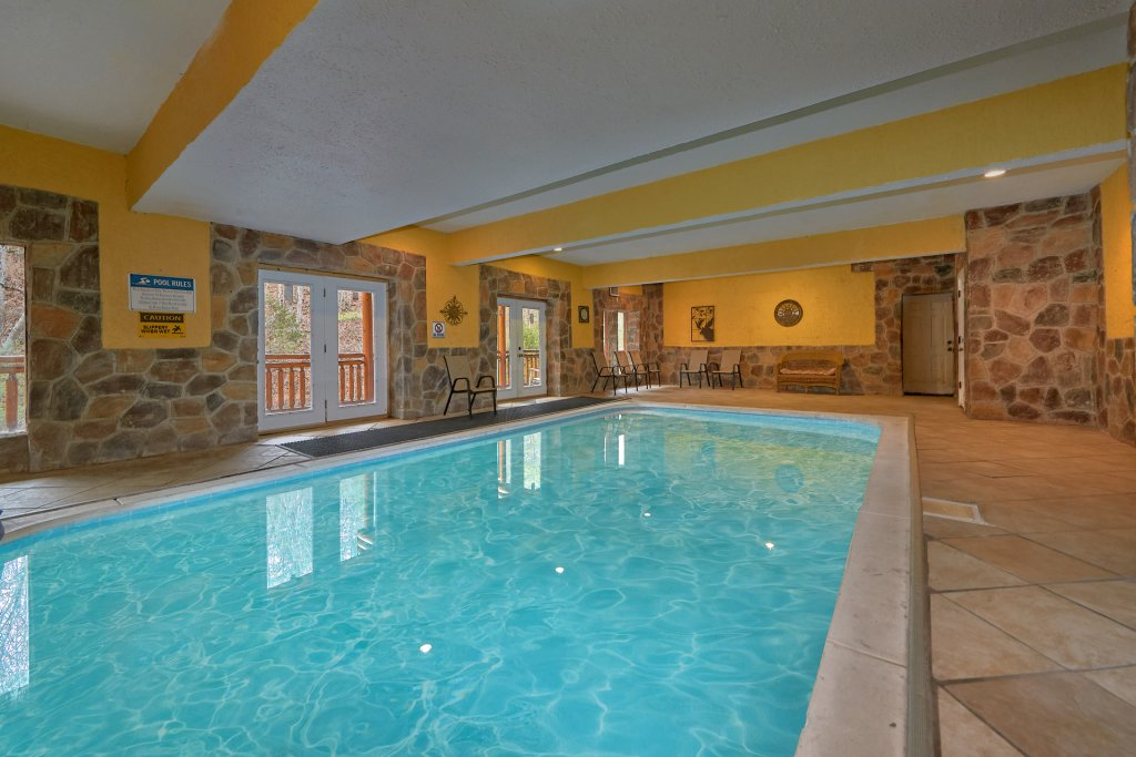 Photo of a Sevierville Cabin named Pool And Theater Lodge - This is the first photo in the set.