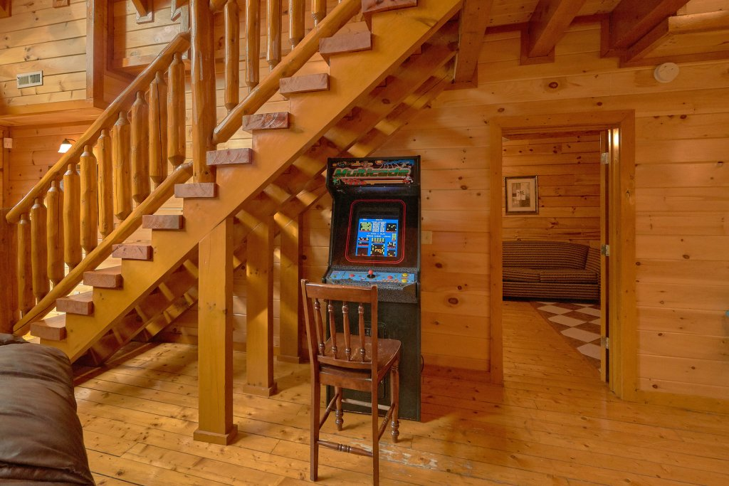 Photo of a Sevierville Cabin named Pool And Theater Lodge - This is the sixth photo in the set.