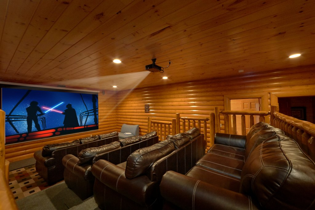 Photo of a Sevierville Cabin named Pool And Theater Lodge - This is the fourth photo in the set.