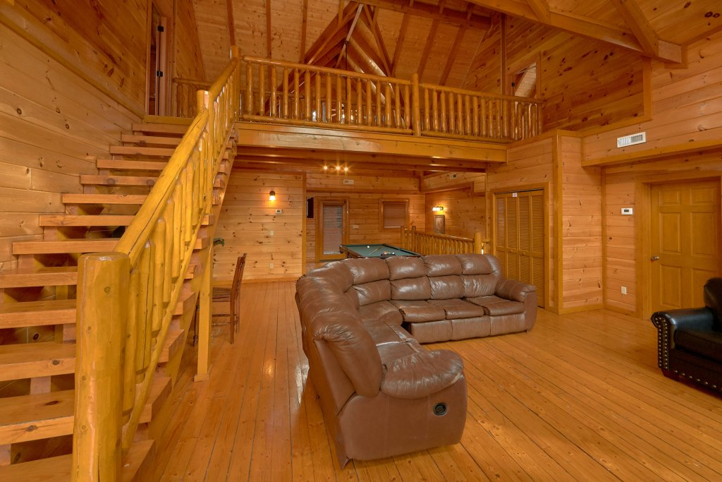 Photo of a Sevierville Cabin named Pool And Theater Lodge - This is the twelfth photo in the set.