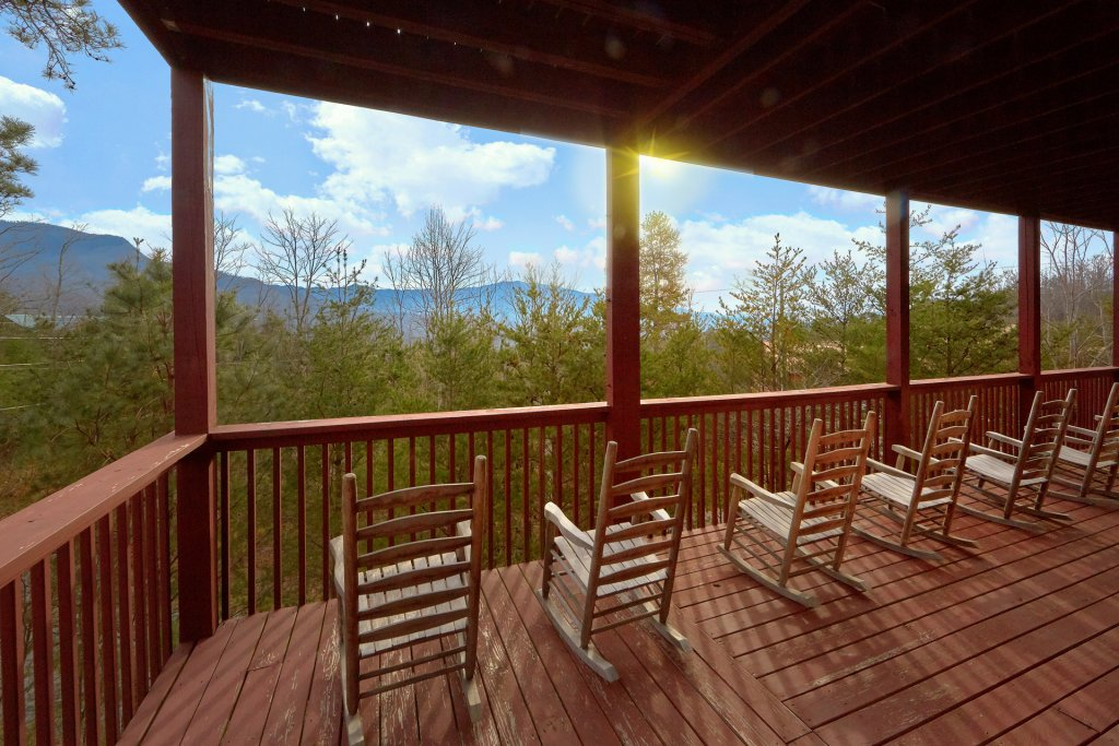 Photo of a Gatlinburg Cabin named Pool And A View Mansion - This is the sixth photo in the set.