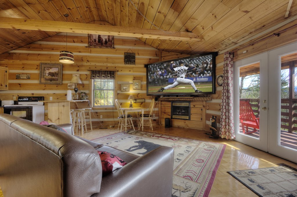 Photo of a Sevierville Cabin named A Panoramic View 2 #139 - This is the eighteenth photo in the set.