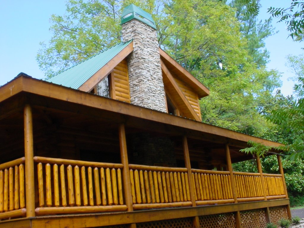 Photo of a Pigeon Forge Cabin named Trout House #350 - This is the twenty-sixth photo in the set.