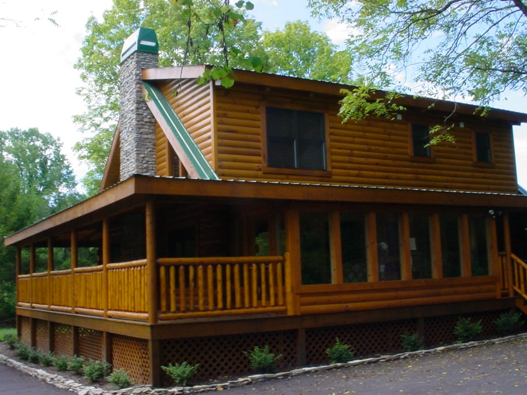 Photo of a Pigeon Forge Cabin named Trout House #350 - This is the twenty-third photo in the set.