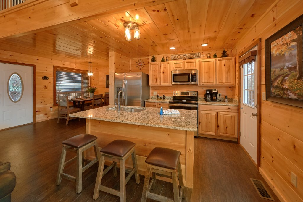 Photo of a Gatlinburg Cabin named Legends Pool Lodge - This is the third photo in the set.