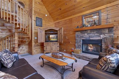 Wildwood Cove, 2 Bedrooms, Fireplace, Wifi, Jetted Tub, Hot Tub, Sleeps 6