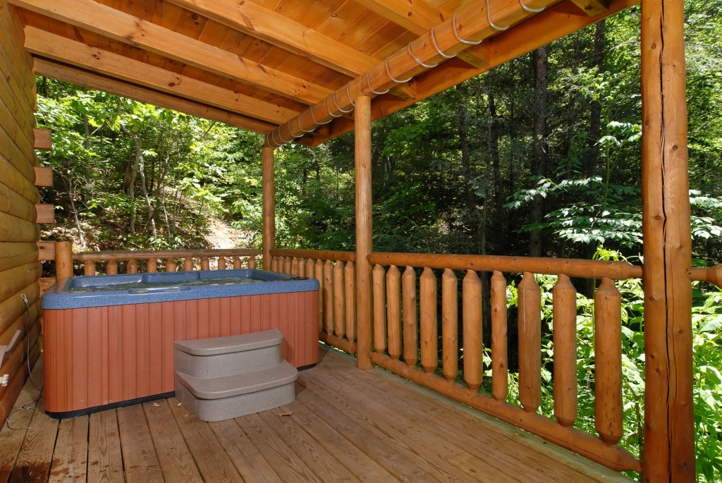 Photo of a Gatlinburg Cabin named Pine Cove Hideaway #1816 - This is the second photo in the set.