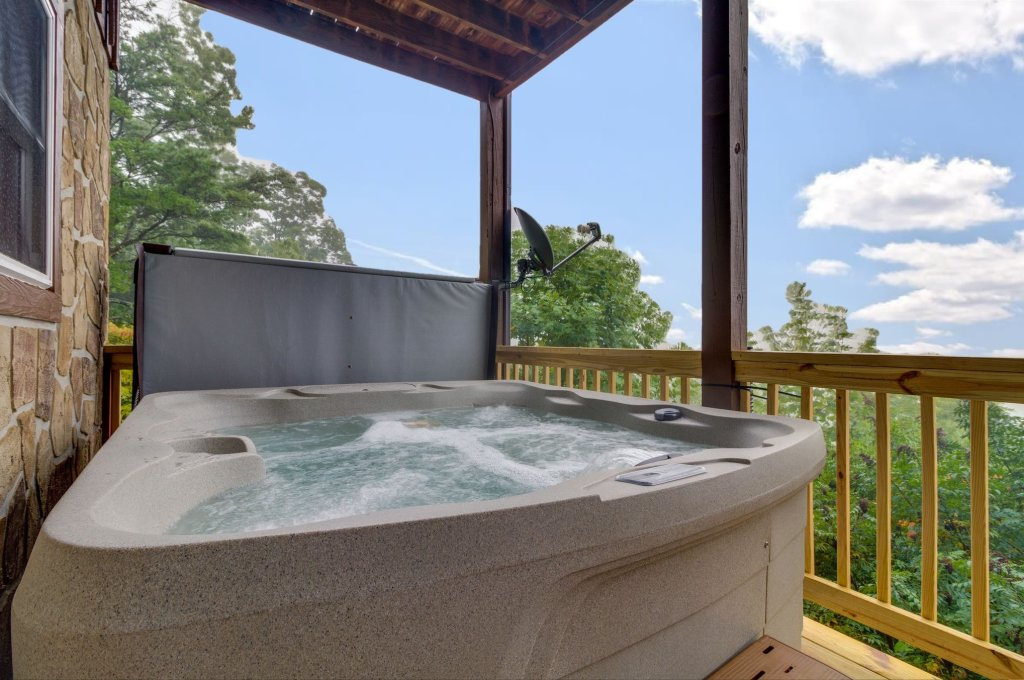 Photo of a Sevierville Cabin named Kickin' Back Jack - This is the seventeenth photo in the set.